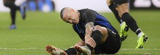 Inter, distorsione per Nainggolan:  stop di almeno tre settimane