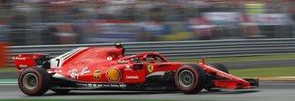 Gp d'Italia, prima fila tutta Ferrari: Raikkonen in pole, Vettel secondo