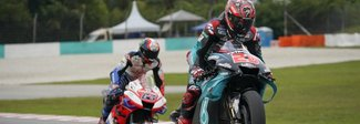 Moto Gp, Valencia; Quartararo pole davanti a Marquez. Rossi dodicesimo