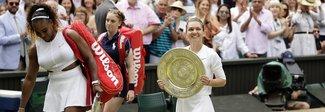Halep infrange il sogno di Serena Williams: la romena è la regina di Wimbledon
