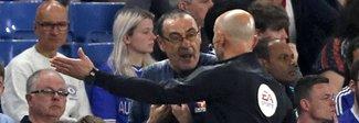 «Italiano di m...», Sarri insultato dalla panchina del Burnley
