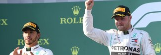 Bottas domina, Ferrari fuori dal podio