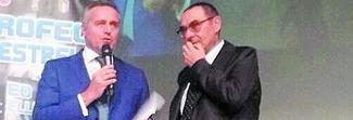 Orgoglio Sarri al premio Maestrelli: «Sono pronto a prendere il potere»