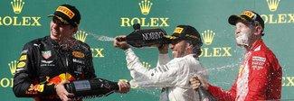 Hamilton trionfa anche in Ungheria Verstappen secondo, Vettel terzo
