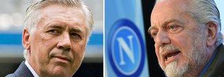 Ancelotti-Napoli, tre ore d'incontro con De Laurentiis: accordo vicino Pronto super ingaggio e biennale