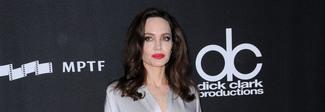 Angelina Jolie brilla sul red carpet, l'abito argento è super chic Foto