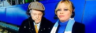 """Anna Falchi, gaffe a """"Quelli che il calcio"""": «Siamo tutti antisemiti» Video"""