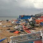 Maltempo, devastato il litorale adriatico. Resta l'incubo pioggia e vento