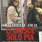 Raffaella Fico, Mario Balotelli e la figlia Pia (Chi)