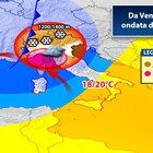 Meteo, attese nevicate al Nord: nel weekend vortice ciclonico al Sud