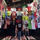 La collezione di maglie di Messi