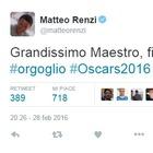 •Renzi twitta #orgoglio