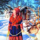 Finlandia d'inverno: viaggio a Inari, culla della cultura Sami