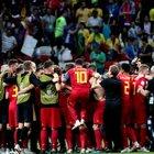 Il Brasile cade davanti al Belgio