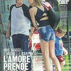 Max Biaggi con la nuova fidanzata Michelle Carpente (Diva e donna)