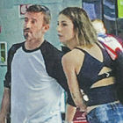 Max Biaggi con la nuova fidanzata Michelle Carpente