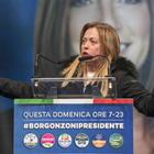 Meloni: «Fratelli d'Italia unico vincitore di questo voto»