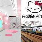 Treno Hello Kitty ad alta velocità: in arrivo un proiettile tutto rosa