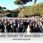 Gabriele Sandri, la commemorazione per i 10 anni dalla morte del tifoso ucciso dall'agente Spaccarotella