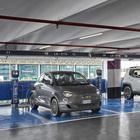 Fca, dieci colonnine di ricarica presso il Leasys Mobility Store all'aeroporto di Fiumicino