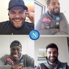 Napoli, House Quiz tutto da ridere  con Insigne, Koulibaly e Luperto