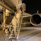 Coronavirus, controlli medici a bordo degli aerei in arrivo a Malpensa dalla Cina
