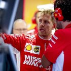 Ferrari, Vettel: «Errore sulle gomme, figura da idioti»