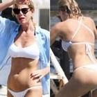Alessia Marcuzzi, in Costa Azzurra il bikini è bollente