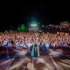Cristina D'Avena in concerto al Gayvillage (foto Davide Fracassi/Ag.Toiati)