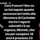 Appello a Francesco Totti degli amici di uno dei ragazzi feriti: «France vieni a trovare Michele»