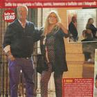 Mara Venier e Nicola Carraro passeggiano insieme (Vero)