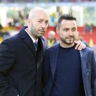 Benevento e Sassuolo verso scambio di panchine Bucchi-De Zerbi