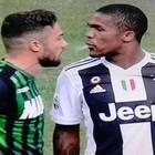 Douglas Costa e lo sputo, Di Francesco furioso: «Nessuna frase razzista, chiedo rispetto»