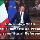 La parabola di Renzi, dal trionfo alle Europee alla disfatta del 4 marzo