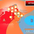 Meteo, le previsioni della settimana: bolla d'aria caldissima, temperature come a luglio