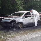 Cadavere carbonizzato in auto:  si attende l'esito dell'esame Dna
