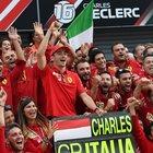 Leclerc: «Un sogno, trionfare a Monza è come vincere dieci Gp»