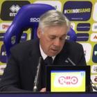 Ancelotti: «Finalmente concreti. La Juve? L'affronteremo con entusiasmo»