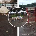 Roma, degrado sempre maggiore a Anagnina: strutture fatiscenti e cumuli di rifiuti