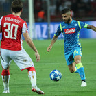 Napoli, il girone parte in salita: 0-0 all'esordio con la Stella Rossa