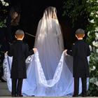 Meghan Markle, l'abito da sposa Givenchy: Velo lungo quanto quello di Lady D, ma c'è il giallo Erdem