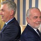 Ancelotti si prende subito il Napoli: «La passione è la spinta per vincere»