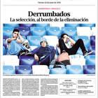 Stampa argentina: il ko con la Croazia una catastrofe
