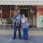 I genitori con Chiara