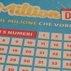 Million Day, i numeri vincenti di sabato 4 gennaio