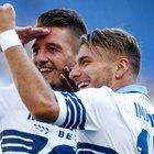La Lazio vola con Immobile e Milinkovic: 4-1 al Genoa