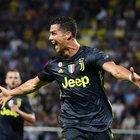 La Juve fatica a Frosinone: decidono nel finale CR7 e Bernardeschi