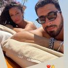 """Raffaella Fico e il nuovo amore Giulio Fratini: la prima foto social """"segreta"""""""