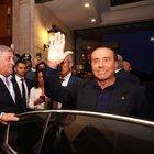 Berlusconi show a Fiuggi: «Salvini è un bravo ragazzo, deve solo rinsavire un po'»