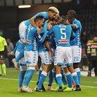 Udinese-Napoli 0-3: Ancelotti a 4 punti dalla Juve